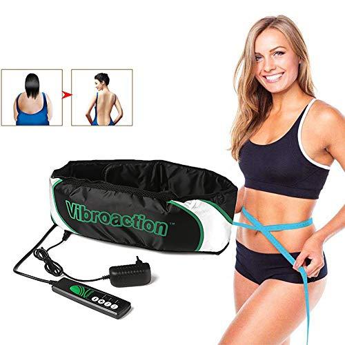 ZFAZF Vibrations Schlankheits Massagegürtel Elektrische Taillenmassage Massage und Vibrationswirkung, für Hüft, Rücken und Bauchbereich sowie am Gesäß, den Beinen oder Armen