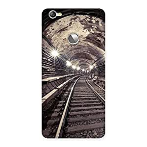 Cute Track in Tunnel Back Case Cover for LeTV Le 1s