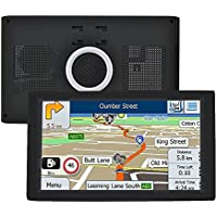 9-Inch High Resolution Google Android GPS Navigation Built in Bluetooth WIFI for Cars Satellite Navigation System Include UK and Europe Map