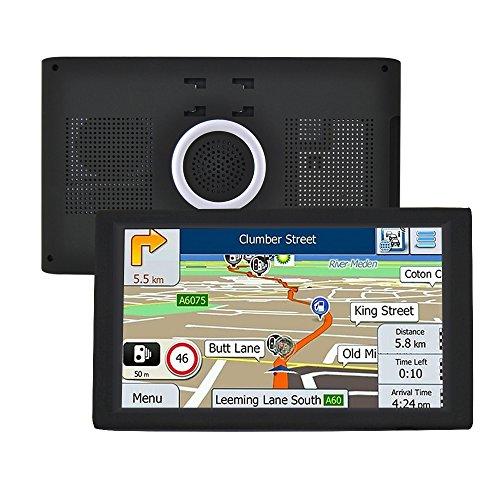 Sistema de Navegación por Satélite 9 Inch para Coche GPS Navegador Bluetooth...
