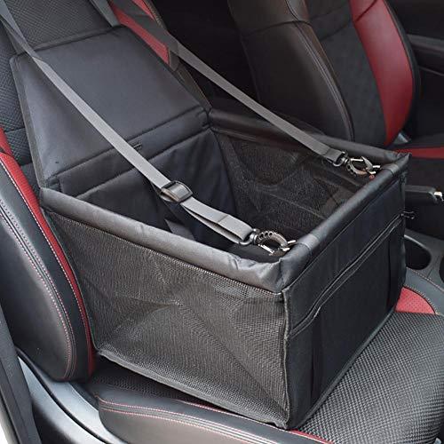 Hunde Autositz Wasserdichtes Breathable Haustier Autositz Mit Sicherheits-Leine Tragbare Reise Auto-Fördermaschine-Tasche Für Haustier (45 X 35 X 25 Cm)