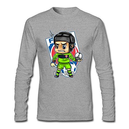 UKCBD -  T-shirt - Uomo grigio Large