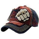 Tukistore Unisex Hombres Mujeres algodón Gorra de béisbol Sombrero de Camionero Bordado Vintage Sombrero de Snapback del Remache