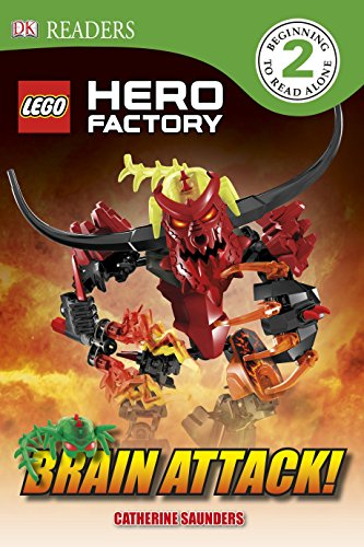 DK Readers L2: LEGO Hero Factory: Brain Attack! (Lego Hero Factory Brain Attack)