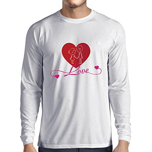rts Ich Liebe Dich ! Geschenke der Liebe für Ihren geheimen Valentinsgruß (XX-Large Weiß Mehrfarben) ()