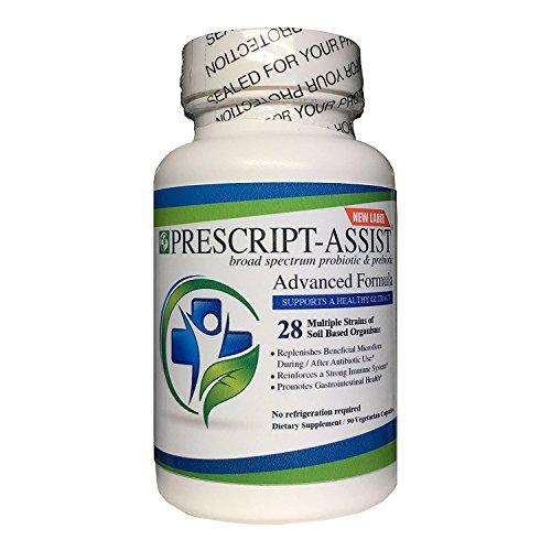 Prescript-assist Broad Spectrum Probiotic Prebiotic Complex 90 Caps by Safer Medical Inc