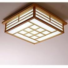 Lamparas japonesas techo for Chambre japonaise traditionnelle