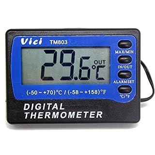 Fridge Refrigerator Freezer Digital Alarm Thermometer Temperature Meters