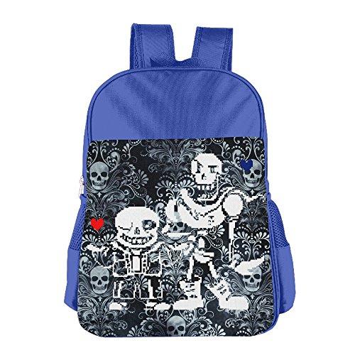 launge-kids-undertale-sans-and-papyrus-school-bag-backpack