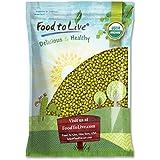 Food to Live Frijoles mung orgánicos certificados (germinados, No OMG, a granel) 4.5 Kg