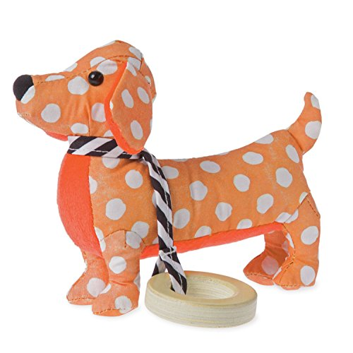 Manhattan Toy Dotty Pup Hochet et anneau de dentition Sensorielle