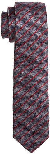 ESPRIT Collection Herren Krawatte 106EO2Q015, Rot (Red 630), One size