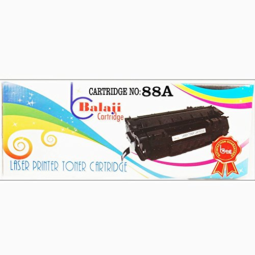 BC 88A / CC388A Laser Printer Black Toner Cartridge Compatible for HP LaserJet - P1007, P1008, P1106, P1108, M202, M202n, M202dw, M126nw, M128fn, M128fw, M226dw, M226dn, M1136, M1213nf, M1216nfh, M1218nfs  available at amazon for Rs.615