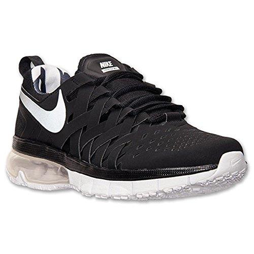 Nike Fingertrap Max, Chaussures de sports extérieurs homme BLACK/REFLECT SILVER-WHITE