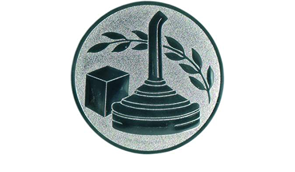 Pokal Emblem Eiskunstlauf 50 mm//bronze
