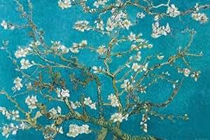 """Empire Merchandising GmbH - Poster San Remy 1890, Vincent Van Gogh """"Fiori di mandorlo"""" + accessori multicolore"""