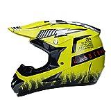 WZFC Crosshelm Motocross Enduro Downhill Fox Helm Motorradhelm Integralhelm,FOX2,S