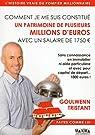 Comment je me suis constitué un patrimoine de plusieurs millions d'euros avec un salaire de 1750 eur par Tristant