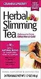 21st Century Health Care Herbal Slimming Tea, Cranraspberry, Caffeine Free, 24 Teebeutel, 1,6 oz (45 g) 2.1 x 2.7 x 4.8 inches