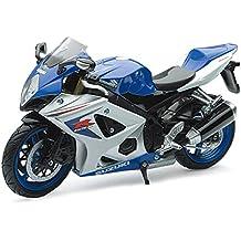 2008 Suzuki GSX-R 1000 [NewRay 57003A] Azul/Blanco, 1: