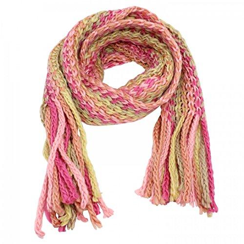 Glamexx24 SuperLangen Schals Strick kuschelig und warm Schal mit Fransen