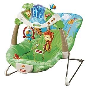 Mattel K2565 - Fisher-Price Baby Gear Rainforest Wippe