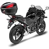 Givi Support Valise Top Case Monolock Honda CBR 125/250 R, Noir