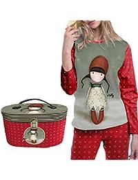 ADMAS - Pijama GORJUSS Navidad Mujer Color: Rojo Talla: Large