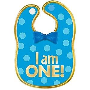 Amscan International 430585 - Accesorios para Disfraz, Tela de Baby, Color Azul