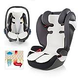 Atmungsaktive Universal Sommer-Sitzeinlage / Sitzauflage für Auto-Kindersitze und Babyschalen |...