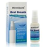 Atemerfrischer, Frische Mundspray, Oral Spray, Gegen Mundgeruch mit Atemfrisch Mundspülung mit hochdosiertem Sauerstoff für trockenen Mund, Mund bitter, Mundgeruch, 1er Pack (35ml)
