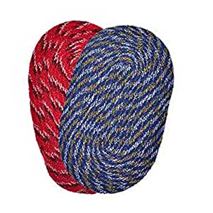 2 Piece Cotton Door mat combo - 12X 16 Multi-Color