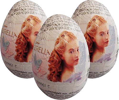 Cinderella Egg chocolat Surprise (pack de 3)
