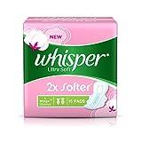 Whisper Ultra Soft Sanitary Pads - 15 Co...