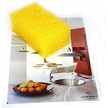25pieza para piedra (para esponja. empasa Esponja, esponja–Amarillo–Tamaño. 11x 4x 6cm