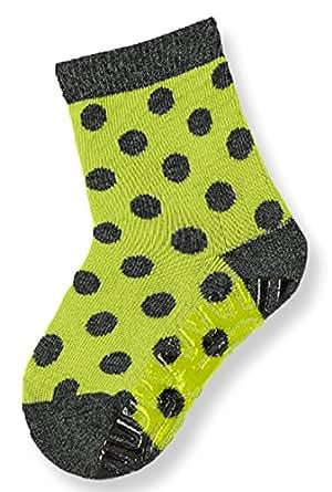 Sterntaler Fliesenflitzer Dots, Plüschsohle, Maisgrün, 17-18