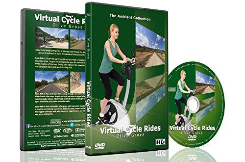 Virtuelle Fahrradstrecken - Olivenhaine - Für Indoor Radfahren, Laufband und Laufworkouts