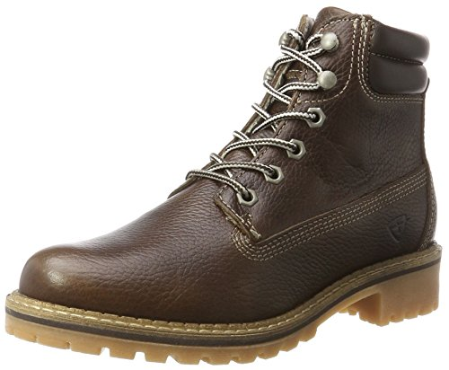 Tamaris Damen 25242 Stiefel, Braun (Mocca Pull Up), 40 EU (Fashion Winter Womens)