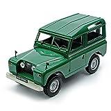 Land Rover Serie II Grün 1958-1971 1/43 Modellcarsonline Modell Auto