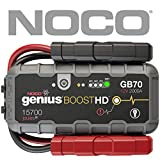 NOCO Boost HD GB70 2.000 Ampli 12V UltraSafe Lithium Jump Starter Booster de Batterie de Voiture