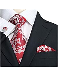 Landisun Herren Krawatten Set Paisley