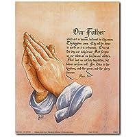 La oración del Señor religiosos y espirituales Póster ...
