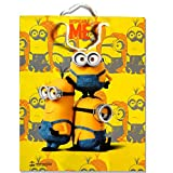 ThemeHouseParty Minion Theme Party Paper BAGES for Gifting (Big Size)/Birthday Party Decoration/Goodie Bag