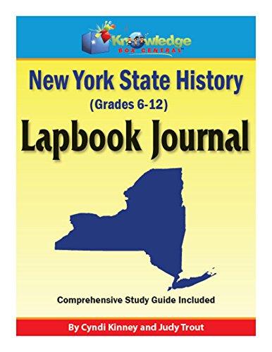 New York State History Lapbook Journal: Plus FREE Printable Ebook ...
