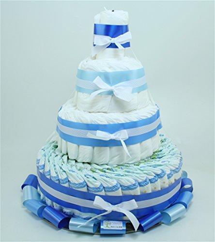 tarta-de-panales-de-cuatro-pisos-azul