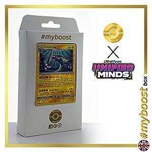 Eelektross 66/236 Holo Reverse - #myboost X Sun & Moon 11 Unified Minds - Box de 10 cartas Pokémon Inglesas