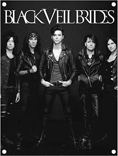 Black Veil Brides Photo Poster in tessuto / Flag