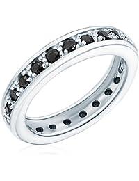 Rafaela Donata - Bague - Argent sterling 925 oxyde de zirconium - Bijoux pour femmes - En plusieurs tailles, bague oxyde de zirconium, bijoux en argent - 60800052