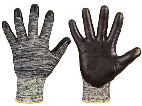 """EN388 Level 5/5 Schnittschutzhandschuhe """"Chico"""", Hohe Abriebfestigkeit, sehr gutes Griff- und Tastgefühl, atmungsaktiver Handrücken (8)"""