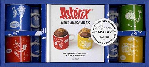 Mini mugcakes Astérix : Avec 4 mini mugs collector par Collectif